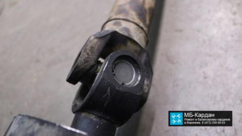 Замена крестовин на кардане Opel Mokka