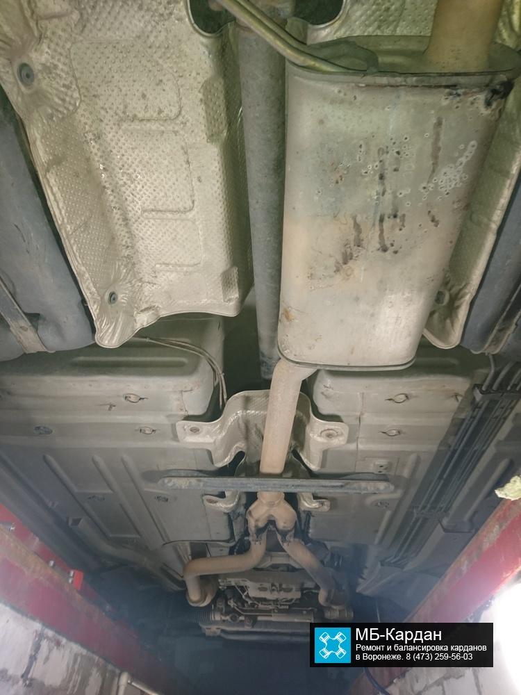 Dodge Charger установка карданного вала